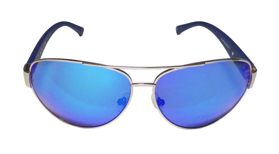 21e60f192 Guess Aviator Sunglasses in Gold Blue GU6830 28X 63 63 Blue Mirror,  Sunglasses - Amazon Canada