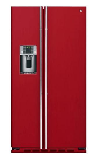 Einbau Kühlschrank Side By Side general electricrce 24 vfg 3r amerikanischer kühlschrank
