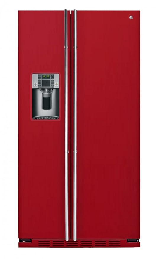 iomabe RCE24VGF8R nevera puerta lado a lado Integrado Rojo 528 L ...
