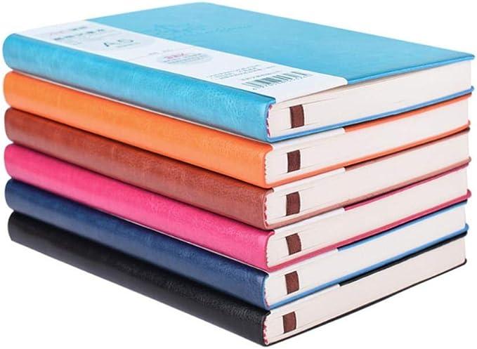Bloc de notas de cuero de color Impresión de cuaderno