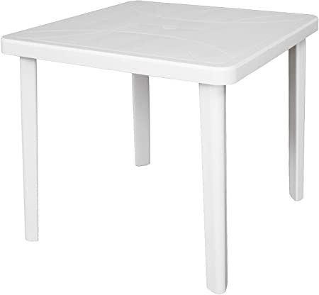 Tavoli In Plastica Per Bar.Sf Savino Filippo Tavolo Tavolino Quadrato 80x80 Nettuno In Dura