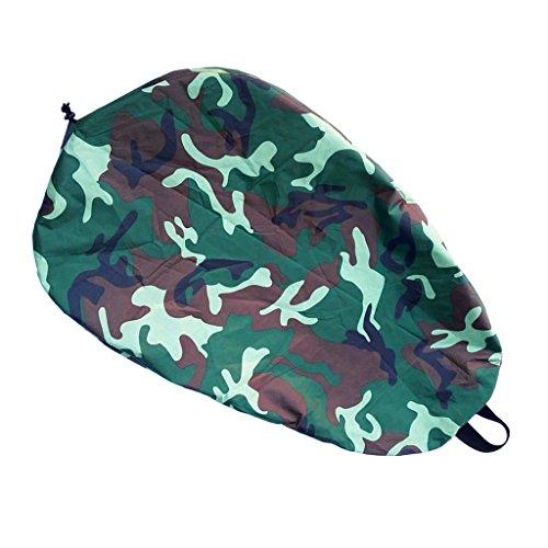 Jili Online Kayak Accessories Waterproof Cockpit Cover Kayak Spray Skirt Deck Bag Anti Dust Cover - Camo, L