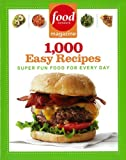 food network 1000 easy recipes