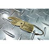 アメリカ製!真鍮製 ボトルオープナー型(栓抜き)キーリング/コカコーラ キーホルダーカギ 鍵 真鍮