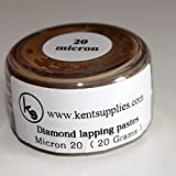KENT Grit 20 microns Diamond Polishing Paste Lapping Compound in 20gr Container