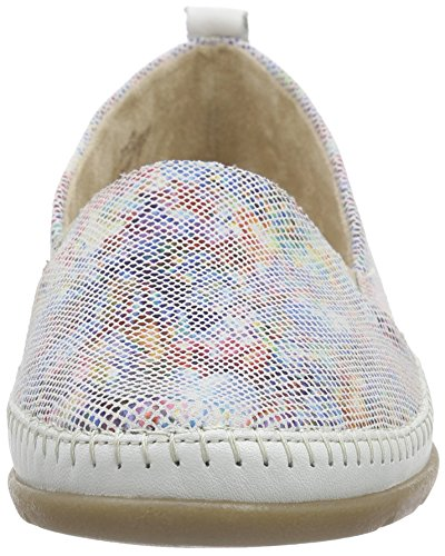 Multicolor Weiss Mocasines 90 D1902 multiflower Mujer Dorndorf Remonte 6qSx7wIPq
