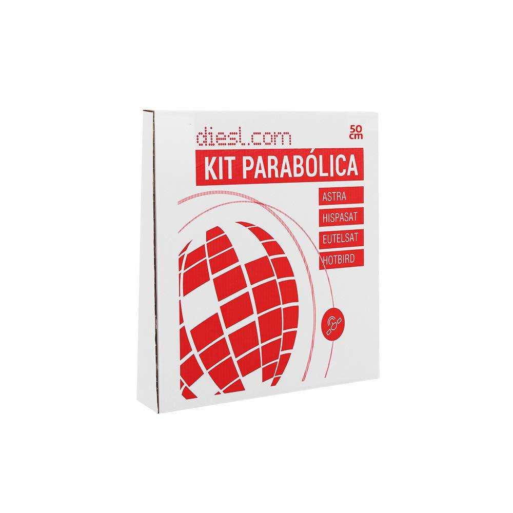Diesl K0050L Kit Antena Parab/ólica 50cm con LNB