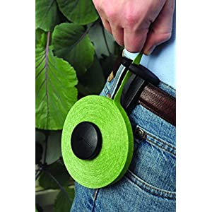 """VELCRO Brand - 45' x 1/2"""" Adjustable Plant Ties For Gardens and Gardening with Cutter - Green"""