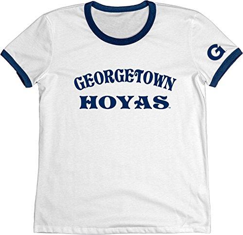 Blue 84 NCAA Georgetown Hoyas Adult Women NCAA Women s Vintage Supima Ringe. 3a0c0a942