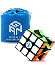 GAN 356 Air Master Black 2019 Version with Bonus Gans Bag and Cube Stand 3x3x3