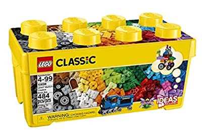 LEGO Classic Medium Creative Brick Box, 484  pcs - Item #6102212