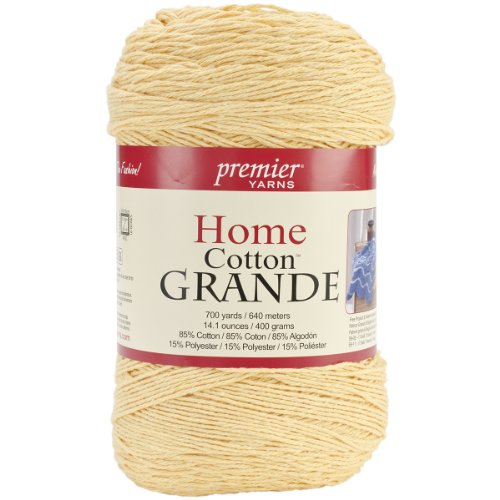 Premier Yarns Cotton Grande Yellow product image