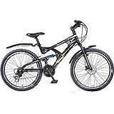 Hero SRXT26BKBL05 RX2 Cycle (Black/Blue)