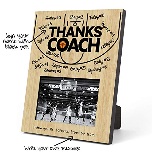 ChalkTalkSPORTS Basketball Photo Frame