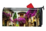 XPNiao Magnetic Garden Yard Mailbox Cover Peace Tourism Travel