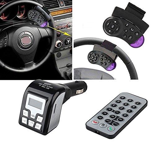 Bluetooth Car Kit Hands-free MP3 Player Wireless FM Transmit