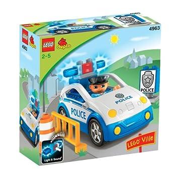 Polizeiauto Mit Sound Top Streife Aus Set 4963 Lego Duplo Polizei Auto