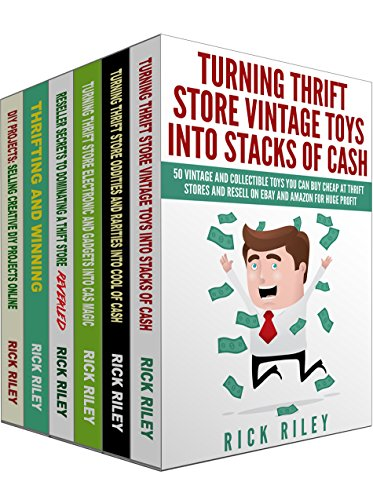How To Work From Home And Be A Full Time Online Reseller Box Set (6 in 1): Learn How To Make A Living Buying From Thrift Stores And Reselling On eBay (Thrifting ... Secrets, Make Money Online, Work From Home) (How Works Shipping)