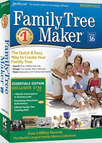 Amazon.com: Family Tree Maker Version 16 Essentials [OLD VERSION]
