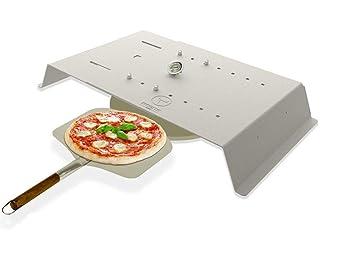 Pizza Gasgrill : Moesta bbq pizzacover flex der breitenverstellbare pizzaaufsatz