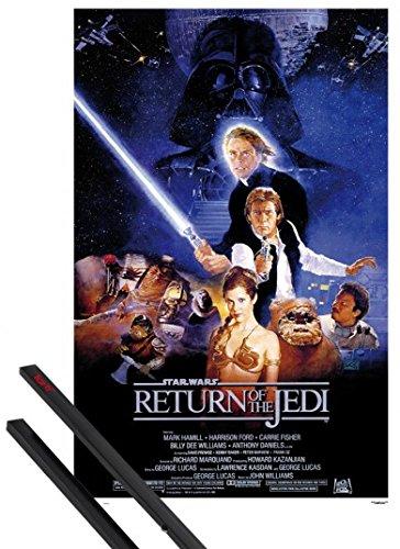 1art1 Star Wars Póster (91x61 cm) Episodio Vi, El Retorno ...