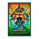 "SnapeZo Movie Poster Frame 27x40 Inches, Green 1.2"" Aluminum Profile, Front-Loading Snap Frame, Wall Mounting, Premium Series for One Sheet Movie Posters"