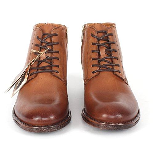 ... Herren Winter Leder Stiefel Kurzer Schaft Braun Selected Quality Boots  Camel-2686 ...