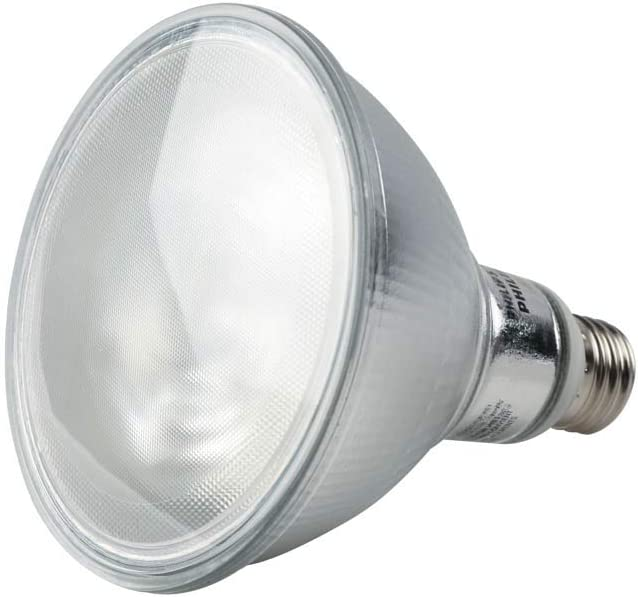 Philips Dimmable 12W 2700K 40° PAR38 LED Bulb, Outdoor and Enclosed Rated
