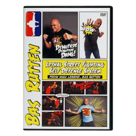 BAS-RUTTEN Lethal Street Fighting DVD