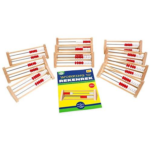 Didax Educational Resources Children's 20-Bead Rekenrek Group Set