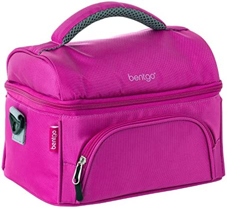 Bentgo Lunch Bag Purple Compartments product image