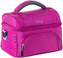Bentgo Lunch Bag (Color) - Insulated Lunch Tote for Work and School with Top and Main Compartments, 2-Way Zipper...