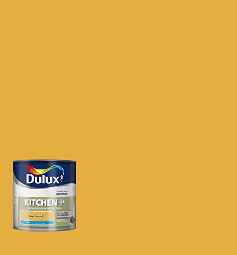 Mustard Kitchen Paint: Dulux Kitchen Plus Matt Paint, 2.5 L