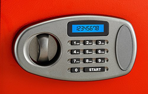AdirOffice Security Safe with Digital Lock - Red - 2.32 Cubic Feet by Adir Corp. (Image #1)