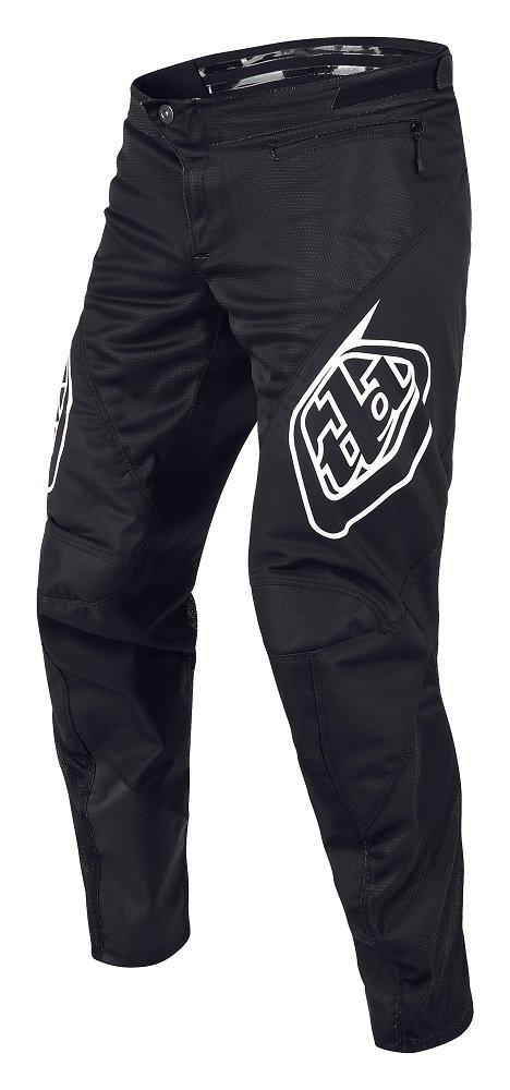 Troy Lee Designs 2018 Sprint Solid Boys Bike BMX Pants - 28,Black