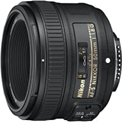 What's in the box: Nikon AF-S Nikkor 50mm f/1.8G Lens, 58mm Snap-On Lens Cap, LF-4 Rear Lens Cap, HB-47 Bayonet Lens Hood for AF-S 50mm f/1.4G, CL-1013 Soft Lens Case, 5-Year Warranty (1-Year International + 4-Year USA Extension).