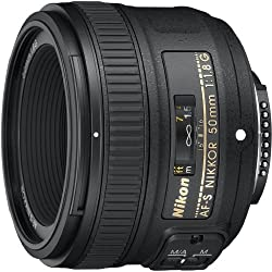 Nikon Af-s Fx Nikkor 50mm F1.8g Lens With Auto Focus For Nikon Dslr Cameras