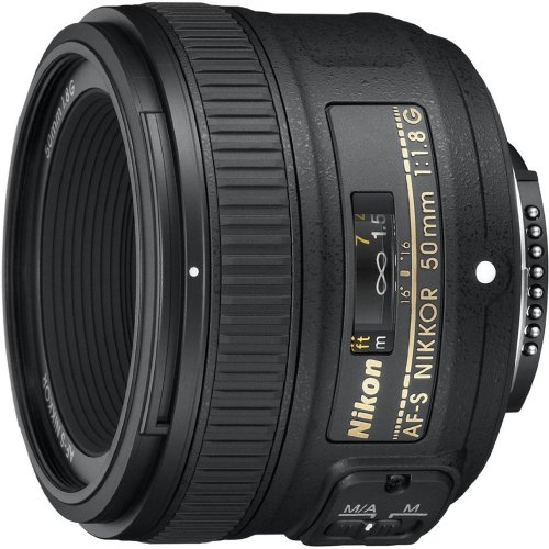 Nikon AF-S FX NIKKOR 50mm f/1.8G Lens with Auto Focus for Nikon DSLR Cameras (The Best Nikon Dslr Camera)
