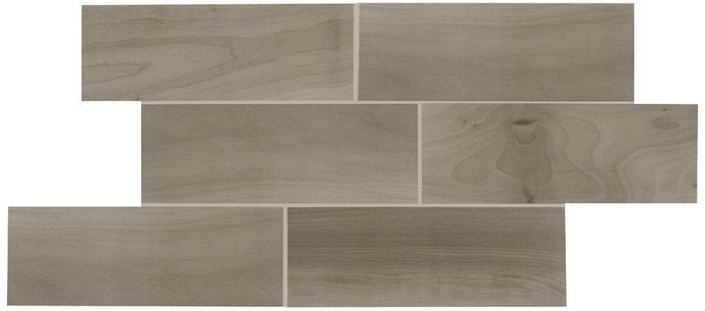 Dal-Tile 7201P2-EM03 Emblem Tile, 7'' x 20'', Gray