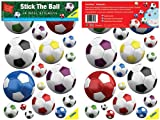 FunToSee Soccer Balls Nursery and Bedroom Wall Decals, Soccer