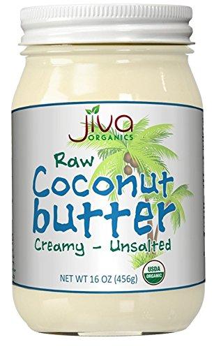 Jiva Organics Coconut Butter Ounce