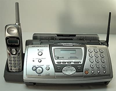 Panasonic Plain Paper Fax with 2.4GHz Cordless Phone and Digital Answering System (KX-FPG377)