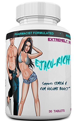 EJACU-Rich Semen Volumizer for Males & Females. Load Volume Enhancement. Testosterone Booster. Naturally Increases Volume & Loads. by EXTREMELY NATURALS