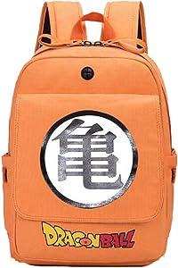 Weeck Anime Dragon Ball Z Goku Cosplay Backpack Bookbag Laptop Bag School Bag (3)