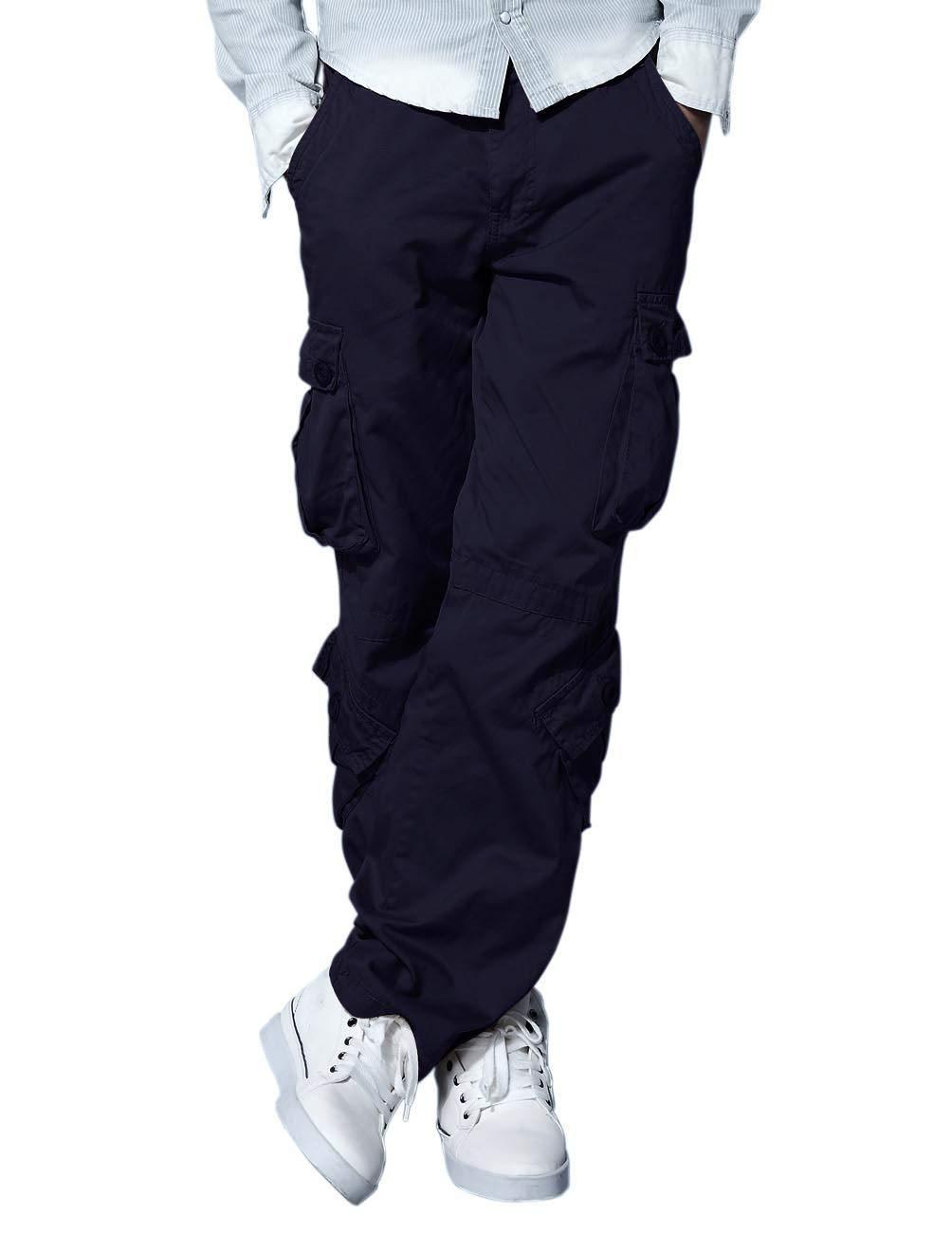 Match Men's Cargo Pants(29,Purplish Blue)