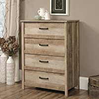 4 Drawer Lingerie Chest, Presented In A Distressed Oak Wood Finish, Perfect For Your Entryway Or Master Suite