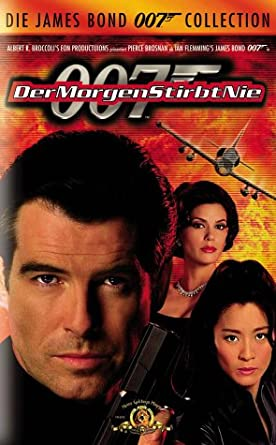 James Bond 007 Der Morgen Stirbt Nie Vhs Pierce Brosnan