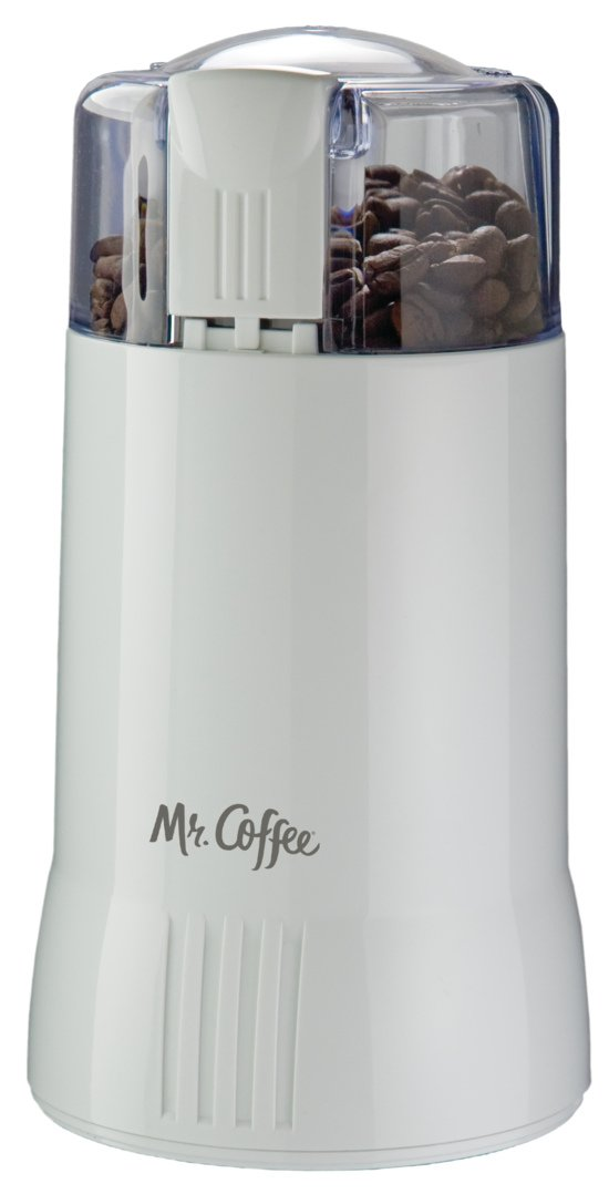 Mr. Coffee IDS55-RB Coffee Grinder, White