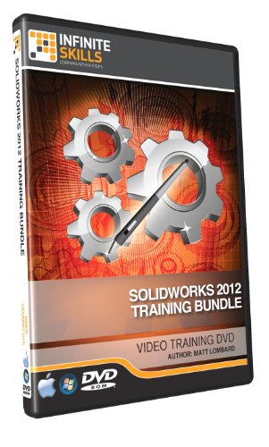 Solidworks 2012 Training DVD - Discounted Bundle - 18.75 Hours by Infiniteskills