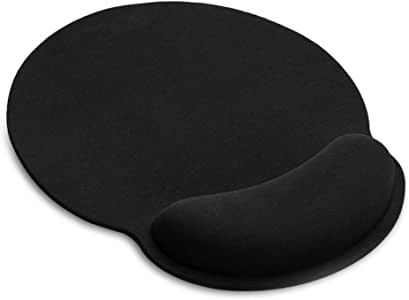 TEKXDD Mouse Pad - Gel Gaming Mouse Wrist Rest Pads Mat, Ergonomic Memory Foam Wrist Support Comfort Pad for Computer Laptop Office Typist Home
